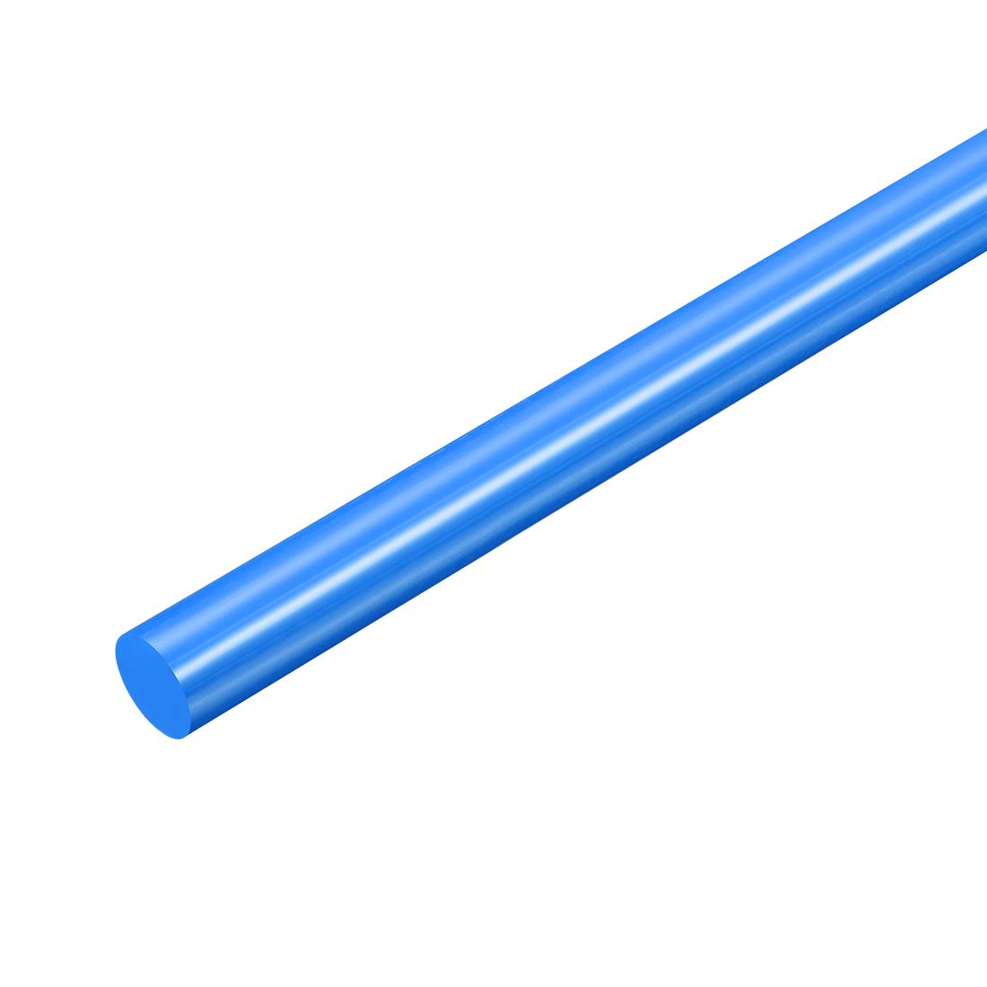 sourcing map Plastic Round Rod 8mm POM 5//16 Dia 20 Length Blue Engineering Plastic Round Bar Polyoxymethylene Rods