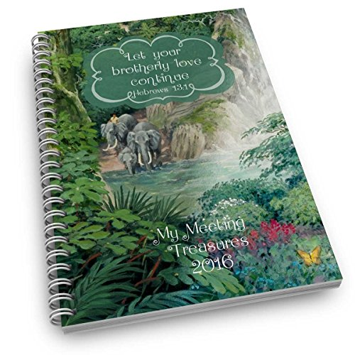 """My Meeting Treasures"""" Ministry Meeting Workbook Companion for KIDS (ages 3-10) - single item"""