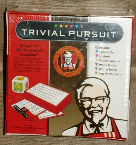Kfc Kentucky Fried Chicken Trivial Pursuit Game  Ages 12   By Kfc