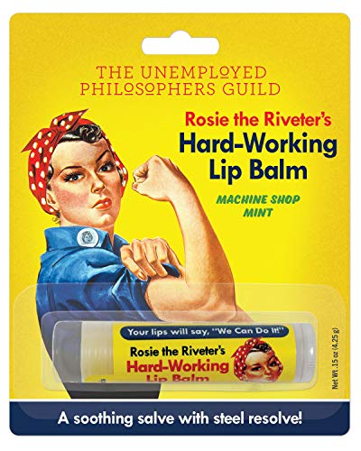 Rosie The Riveter's Hard-Working Lip Balm - Made in the USA (Best Lips In The World)