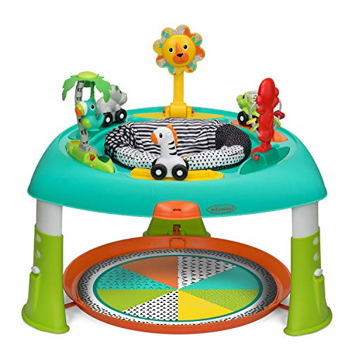 Infantino 2-in-1 Sit, Spin Stand Entertainer 360 Seat Baby Activity Table