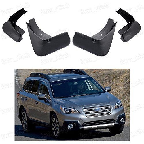 4pcs Mud Flaps Splash Guard Fender Mudguard fit for Subaru Outback 2015 2016 (Mud Flaps Outback compare prices)