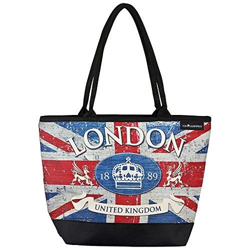 VON LILIENFELD Shoppertasche zum Umhängen London