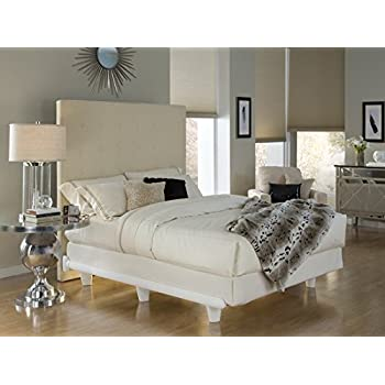 knickerbocker embrace bed frame in white queen size - White Queen Bed Frame
