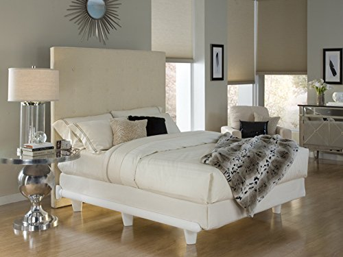 Price comparison product image Knickerbocker Embrace Bed Frame in White - Queen Size