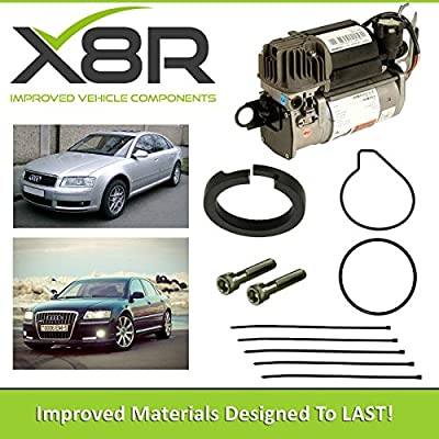 Audi A8, D3, 4E WABCO AIR SUSPENSION COMPRESSOR PISTON RING REPAIR FIX KIT X8R45