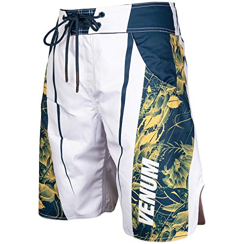Venum Aero 2.0 Boardshorts Men's - Swim Trunks Quick Dry-s White Green ()