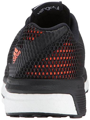 Adidas Prestaties Heren Wraakzuchtige M Loopschoen Zwart / Zwart / Zonne-oranje