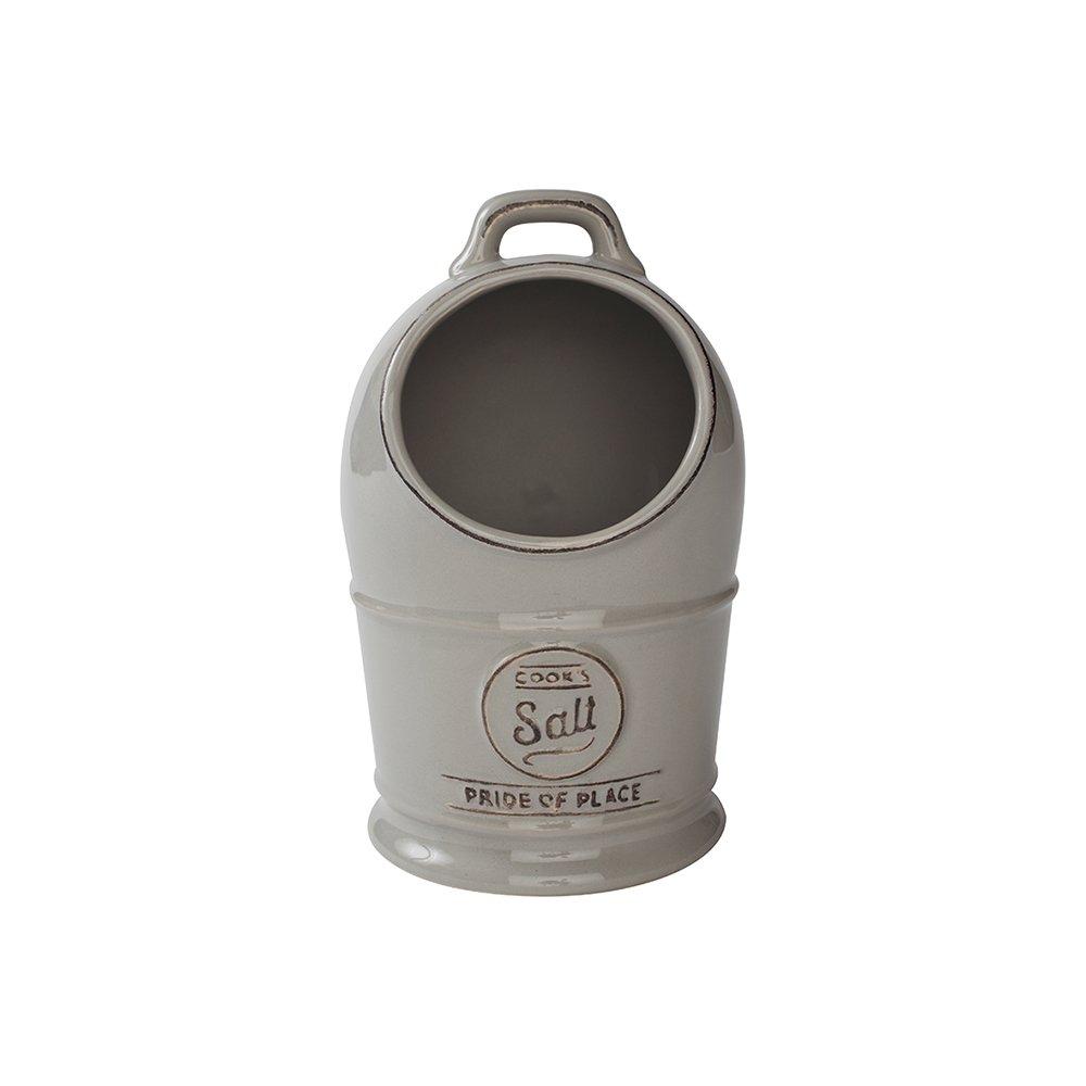 TG Pride of Place Salt Jar / Pig In Grey 18102 T & G Woodware
