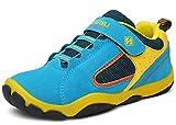 DADAWEN Kid's Outdoor Hiking Athletic Sneakers