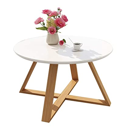 f6d8f5b91a38 Amazon.com  LF Simple Round Combination Mini Coffee Table Creative ...