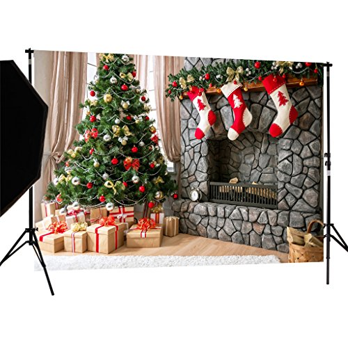 DULUDA 7X5FT Christmas Theme Pictorial cloth Customized photography Backdrop Background studio prop WXL41 -