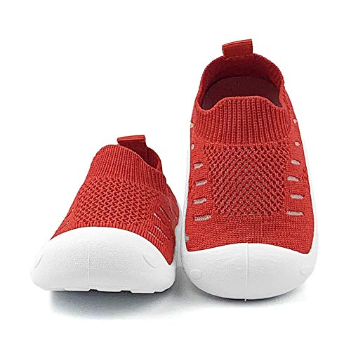 OAISNIT Baby Boy Girl Sneakers Anti Skid Lightweight Soft Toddler First Walkers for Walking Running