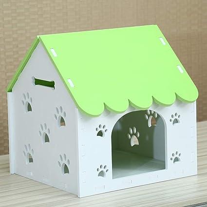 Nido para mascotas Kennel Cat litter Casa de perro en el interior Cálido invierno Casa de