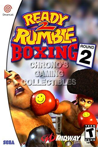 CGC Huge Poster - Ready 2 Rumble Boxing Round 2 - Sega Dream