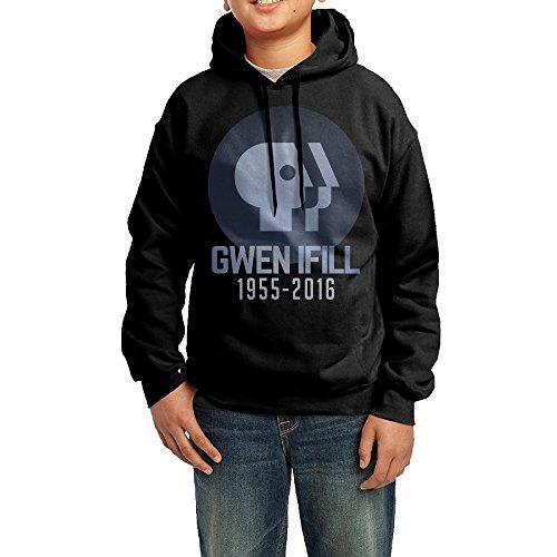 Teenagers Gwen Ifill 1955-2016 Pullover Hoodie