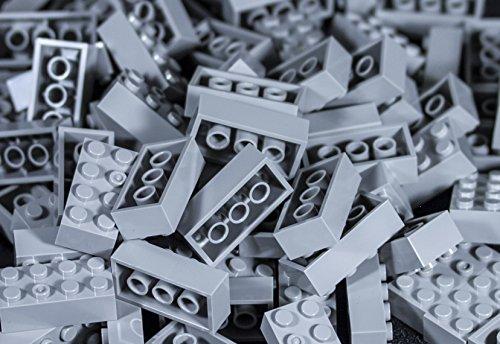 (Imex 2x4 Stud Light Grey Compatible Bricks, 100pc )