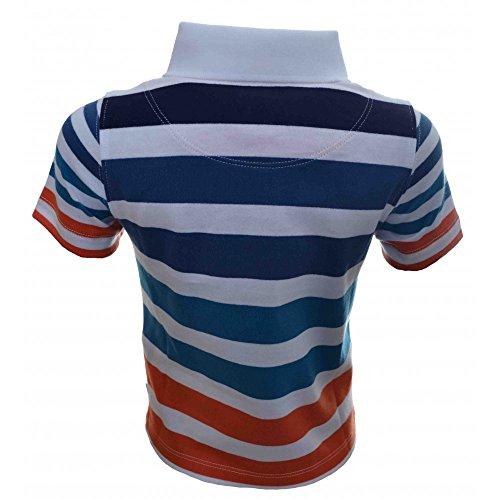 99178a4b Hugo Boss Kids Striped Polo Shirt 12 Months/74CM orange - Import It All