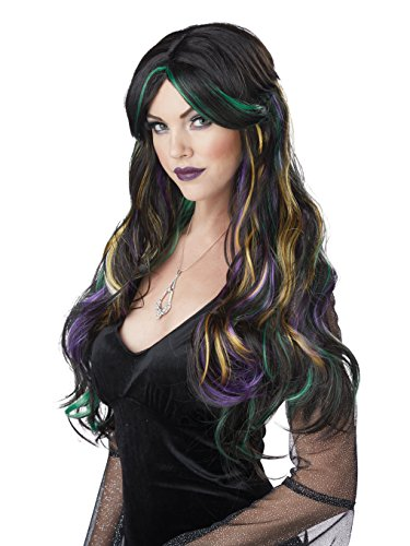 Adult Halloween Costumes For Work (California Costumes Women's Bewitching Adult Wig, Multi, One)