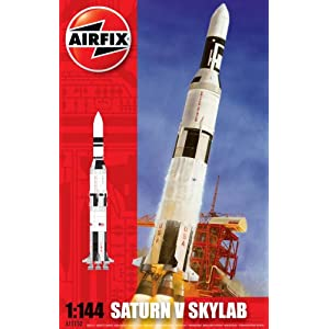 Airfix A11150 Saturn V Skylab 1:144 Scale Space Exploration Series 11 Model Kit 9
