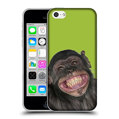 GoGoMobile Coque de Protection TPU Silicone Case pour // Q05620603 grand sourire verde Android // Apple iPhone 5C