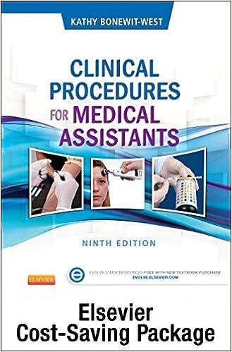 Clinical procedures for medical assistants text and study guide clinical procedures for medical assistants text and study guide package 9e 9th edition fandeluxe Gallery
