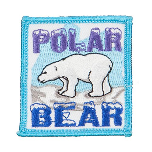 - Polar Bear Patches - Lt Blue OSFM