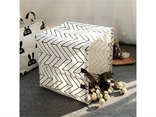Gelaiken Lightweight Rabbit Square Storage Box Desk Storage Box Holder Jewelry Stationery Cosmetic Case Sundries Storage Box(White) by Gelaiken (Image #2)'