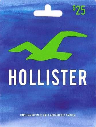 Hollister Gift Card $25