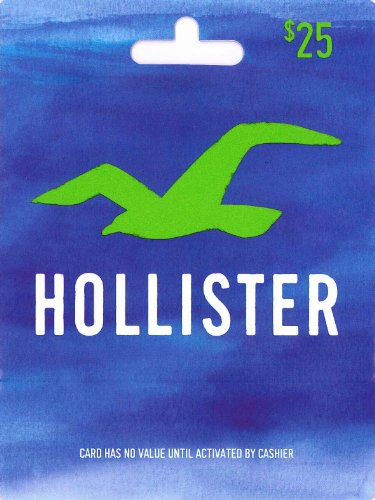 Hollister Gift Card $25