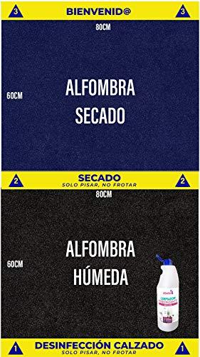 🥇 Cibol Alfombra desinfectante Entrada +
