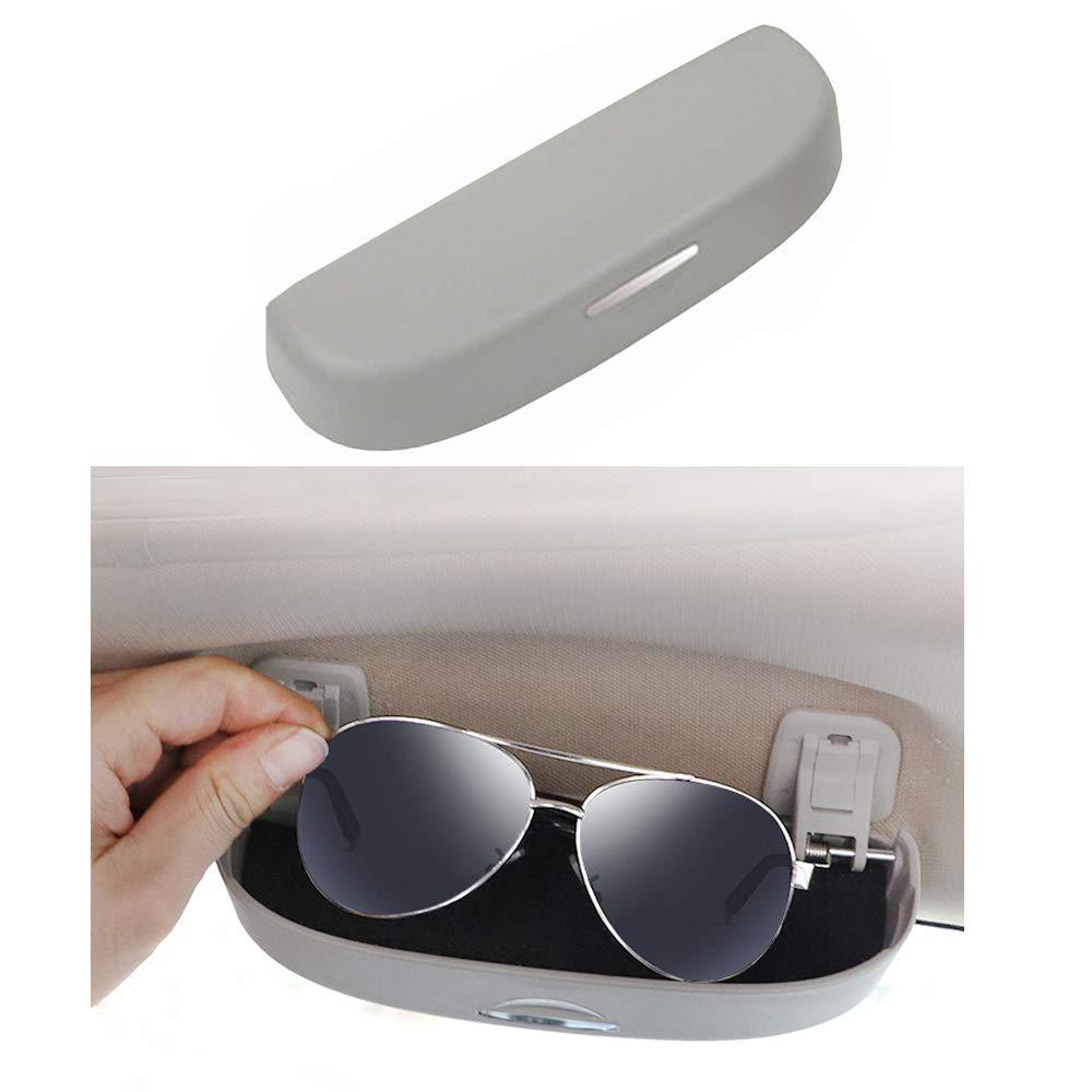 Brillenhalter f/ür Auto Sonnenblende Sonnenbrillen Brillen f/ür 320 328 F07 F10 F11 F48 520 528 X1 X3 X5 E90 E91 F31 F34 F30 Schwarz
