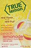 True Peach Lemonade Drink Mix, 10-count-3g each (Pack of 4)