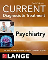 CURRENT Diagnosis & Treatment Psychiatry, 3rd Edition Front Cover
