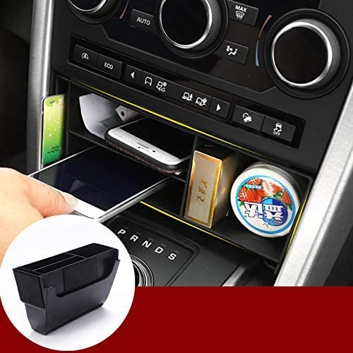 Tianrui Crown For LandRover Discovery Sport 2015-2019 Car Plastic Central Console Multifunction Storage Box Phone Tray Accessories