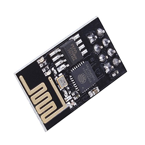 PEMENOL 4pcs ESP8266 Esp-01 Serial Wireless Wifi Module Send Receive Through Walls Transceiver Receiver Board for Arduino by PEMENOL (Image #1)