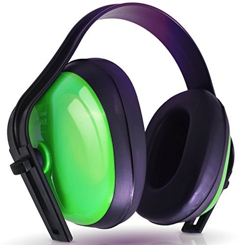 - Hearing Protection Ear Muffs (SUPER COMFORTABLE EAR PROTECTION) Reduce Sound by 21DB - Over The Ear - Compact Foldable Design - Perfect for Firearm Shooting, Hunting, Construction, and More!
