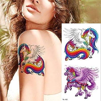 tzxdbh 3 Unids-Transferencia de Agua Tatuaje Mujeres niñas Tatuaje ...