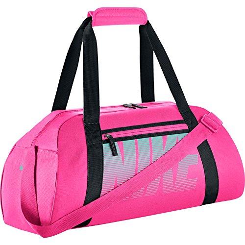 Nike Gym Club Womens Training Duffel Bag (One Measurement, HYPER PINK/BLACK/HYPER TURQ) – DiZiSports Store