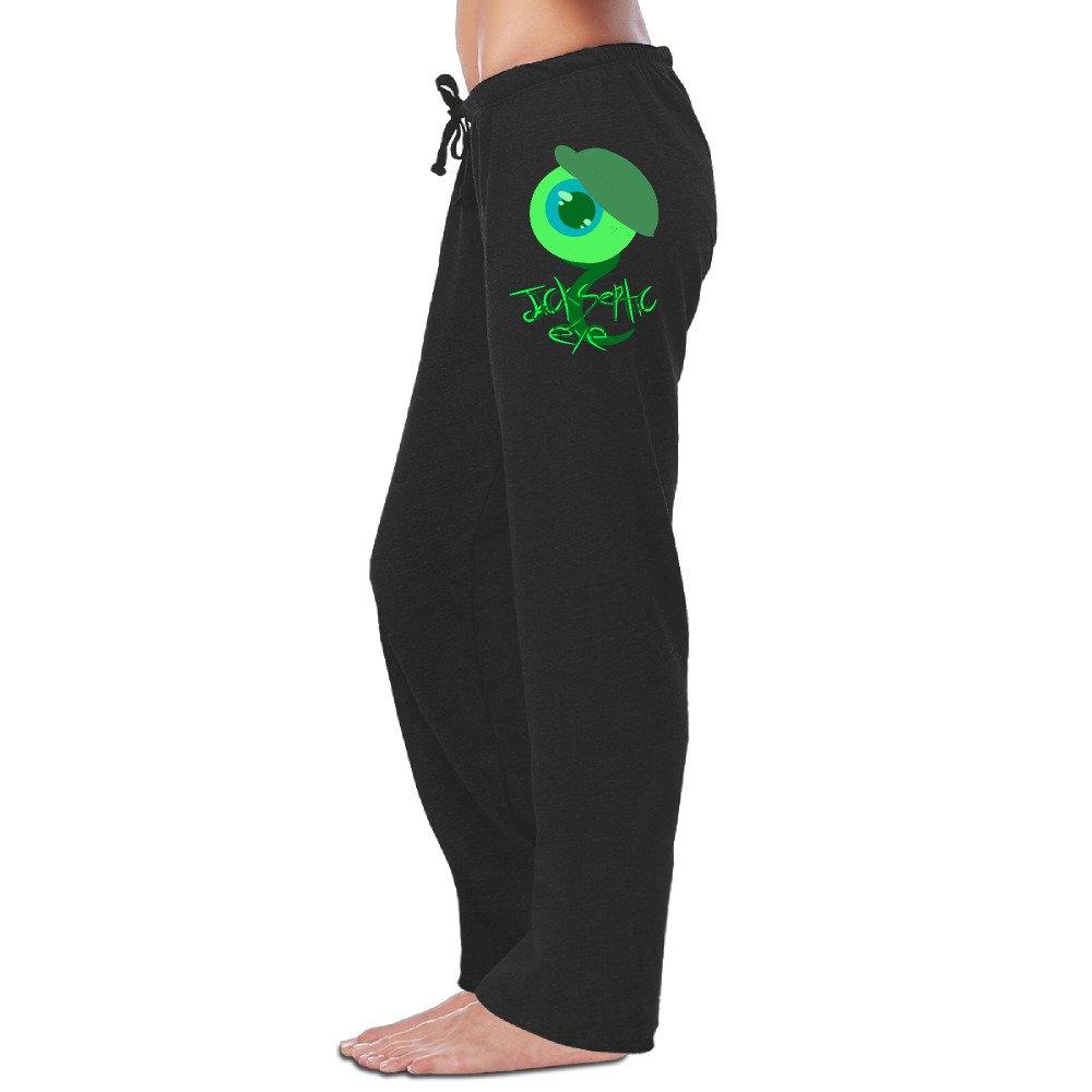 LowkeyNr1 Women's Funny JackSepticEye Logo Sweatpants