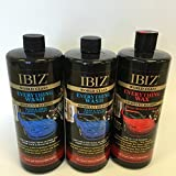 IBIZ (2) Everything Wash and (1) Everything Wax 3 Bottle Combo Pack
