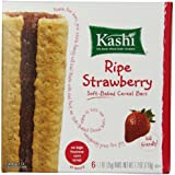 Kashi Cereal Bar, Ripe Strawberry, 6 Count