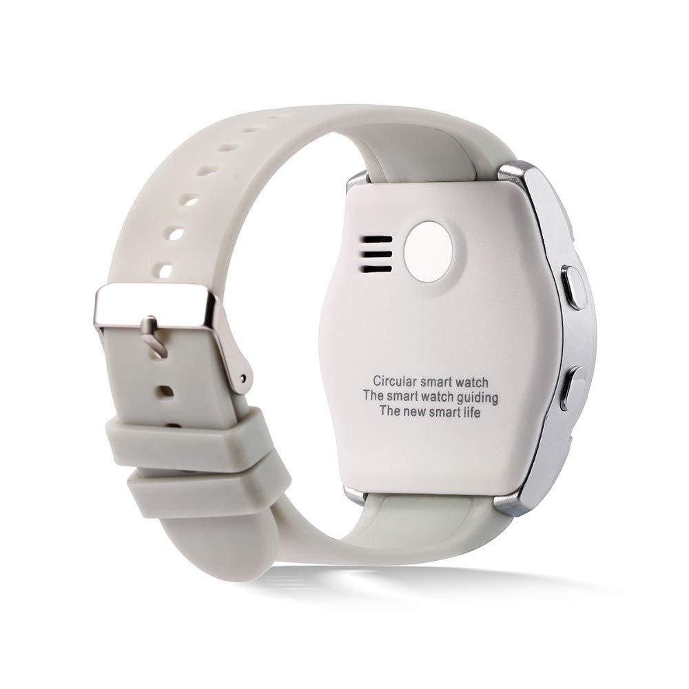 Temco V8 Reloj Inteligente Redondo con SIM TF Camara Bluetooth ...