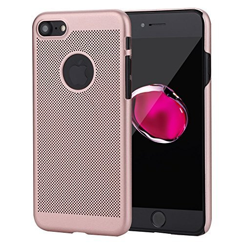 Bili-fox iPhone 7 Case, Ultra-Thin(0.315 inch) Breathable Cooling Mesh Hard Phone Cover for 4.7 inch Apple Phone 7
