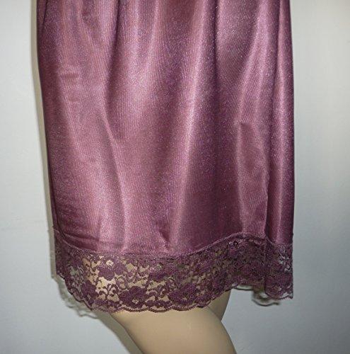 Damart -  Sottogonna  - Basic - Donna Marrone Brown, Purple X-Large
