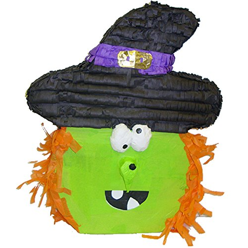 Pinatas Halloween Witch Pinata, Party Game and Decoration Idea for All Hallows Eve, 20