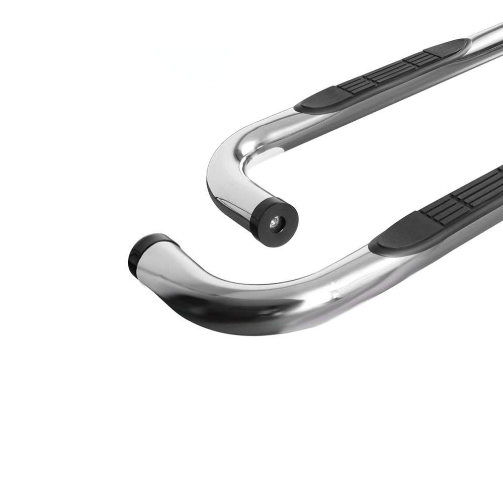 FI-Drive Stainless Side Steps Running Boards Nerf Bar 3 for 2009-2014 Ford F150 Super Crew Cab 4D