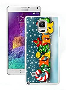 Recommend Design Merry Christmas White Samsung Galaxy Note 4 Case 44