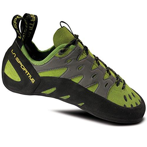 La Sportiva Tarantulace Climbing Shoe - Kiwi/Grey