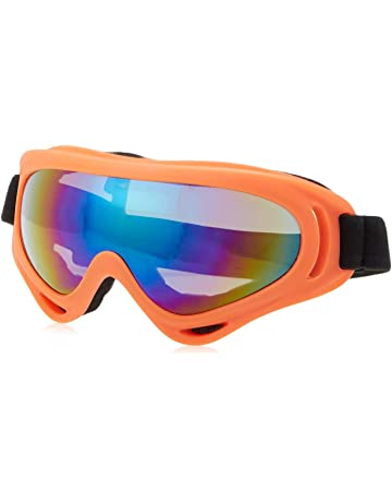 7a1cdb799 COOLOO Ski Goggles, Pack of 2, Snowboard Goggles for Kids, Boys & Girls